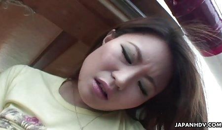 Dua sangat bokep perkosa jepang panas orang Asia lesbian anal scissor style